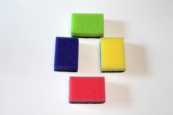 千图网-彩色的清洁海绵11