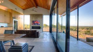 豪宅的家居视觉——落地静音门窗