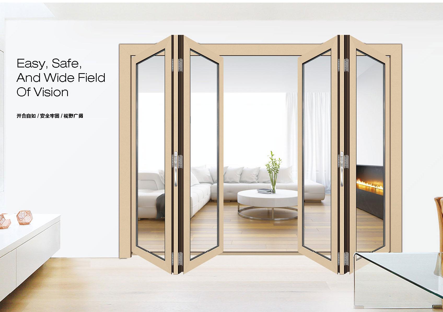 68重型折叠门