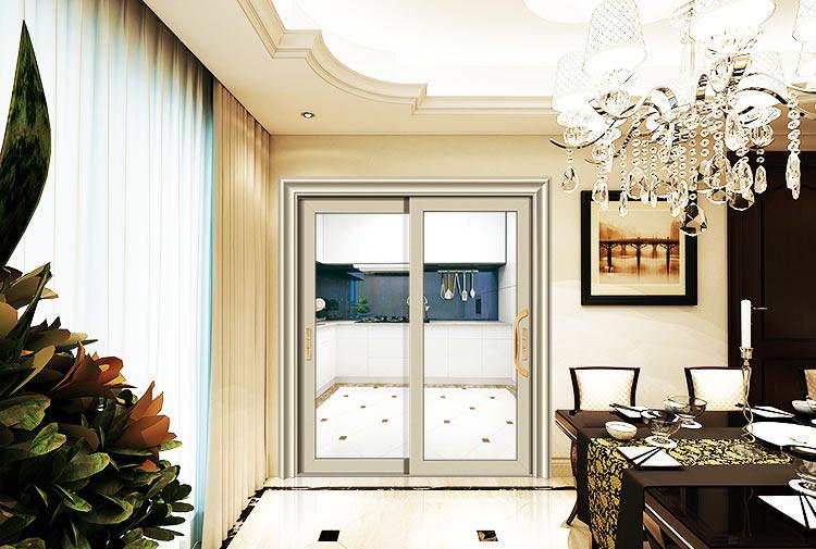 穗福门窗--85扇重型推拉门2-苹果金-x